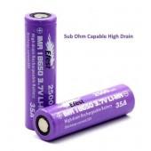 Battery 18650-2500mAh 3.7V